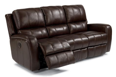 flexsteel power reclining sofa flexsteel latitudes hammond casual reclining sofa