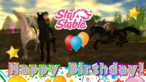 stable happy birthday