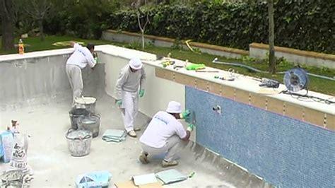 azulejo para jacuzzi c 243 mo instalar vidrepur en una piscina pintar azulejos