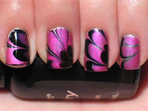 nail art tutorial in water water marble nail art water marble nail polish nail