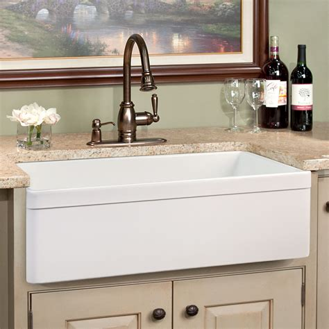 faucets for kitchen sinks kitchen sink fossett 27 inch farmhouse sink kitchen