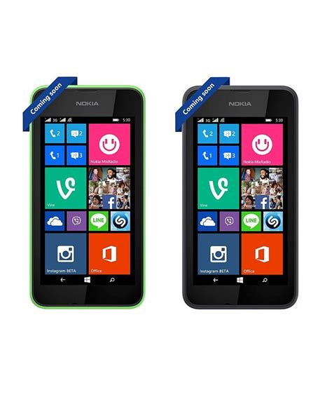 Nokia Lumia Windows8 nokia launches lumia 530 dual sim with windows phone 8 1