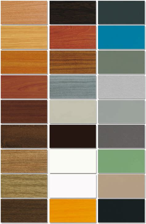 colori persiane essenze e colori di rivestimento per serramenti in pvc