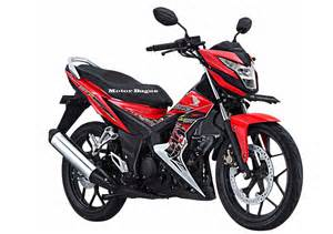 Harga Honda Baru Harga Motor Honda Sonic 150r Baru Bulan September 2017