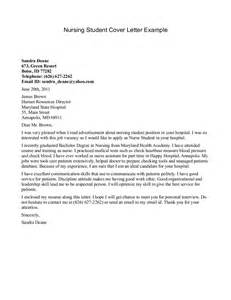 Creative Cover Letters by Creative Cover Letter For Nursing Internship And Maryland State Hospital Vntask