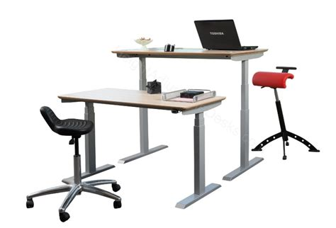 Standing Sitting Adjustable Desk by Standing Desk Height Adjustable Sit Stand 5 Year Guarantee