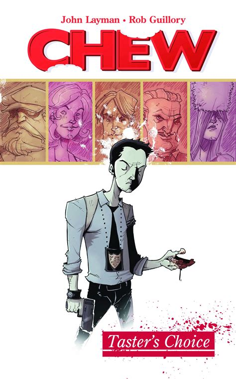 review chew volume 1 taster s choice comicopa