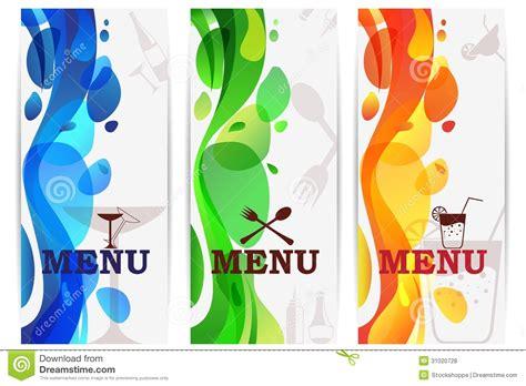 bar menu design royalty free stock photos image 31020728