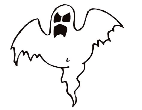 blank ghost coloring pages printable ghost coloring page from freshcoloring com