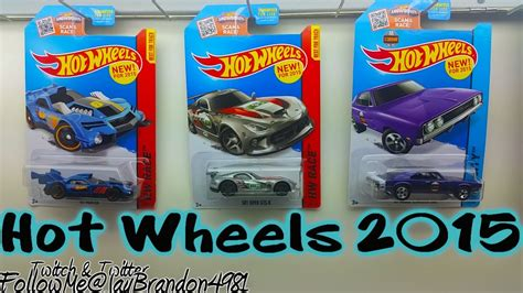 film hot wheels 2015 2015 hot wheels new for 2015 edition unboxing hot wheels