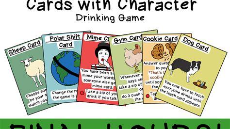 cards  character drinking game  emma  kickstarter