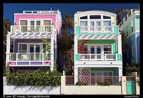 colorful beach houses picture photo colorful beach houses santa monica los