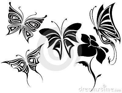 imagenes mariposas tribales pin tatuajes de dibujos mariposas en forma tribales lmm