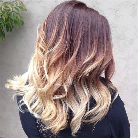 auburn with ombre highlights 31 balayage hair ideas for summer blonde balayage