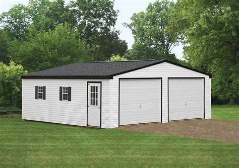 24 X24 Double Wide Garage Glick Structures Glick Garage Doors