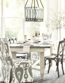 White Dining Room by Dining Room With White Chandelier Brown Wooden Table With