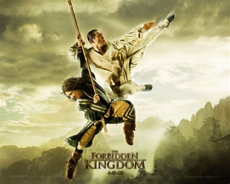 film action jet lee the forbidden kingdom starring jet li jackie chan and