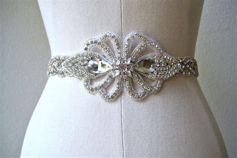 Wedding Accessories Belt by Bejeweled Wedding Accessories Bridal Belt Vintage