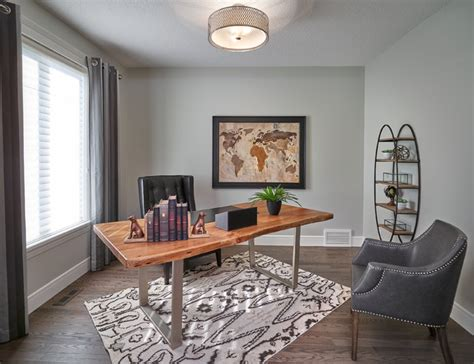 elegant transitional home office designs  motivate