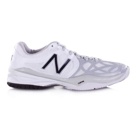new balance tennis shoes new balance wc 996 b s tennis shoe white silver