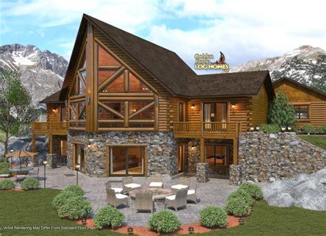 log home timber home plans custom timber log homes golden eagle log and timber homes floor plan details