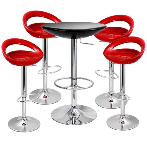 Table And Stools by Crescent Bar Stool And Podium Table Set Buy