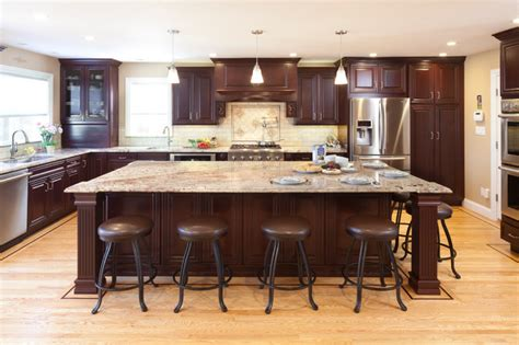 Kb Cabinets by Showplace Wood Cherry Kitchen Traditional Kitchen