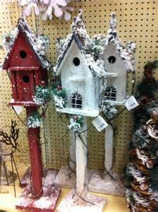 christmas birdhouses christmas pinterest