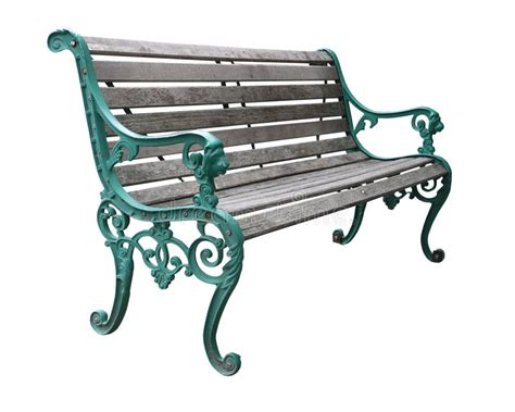 ornate bench ornate park bench stock photo image 3822060