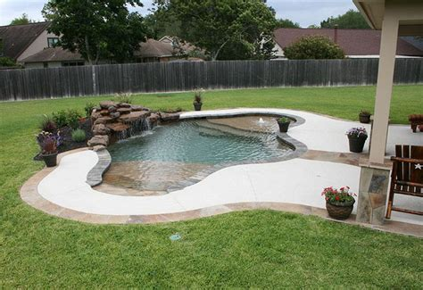 17 Best Ideas About Pool Waterfall On Pinterest Outdoor Entry Swimming Pool Designs