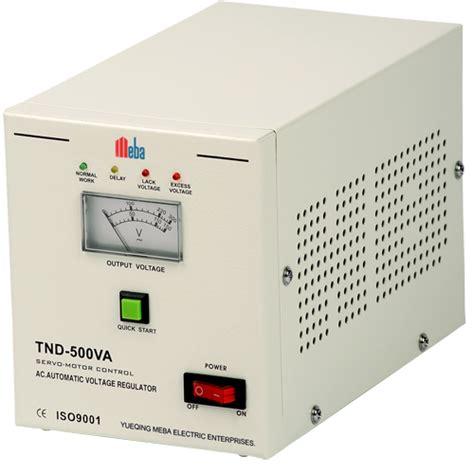 Ac Voltage Stabilizer Meba Ac Voltage Stabilizer Tnd 500va