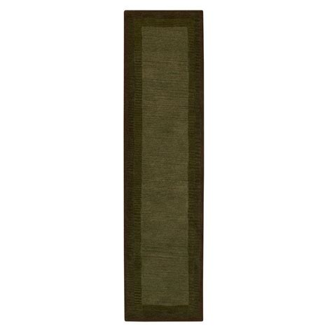 Karolus Area Rug by Home Decorators Collection Karolus Green 2 Ft 9 In X 14