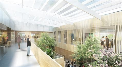 Center For Proton Therapy by Centre For Proton Therapy Linkarkitektur