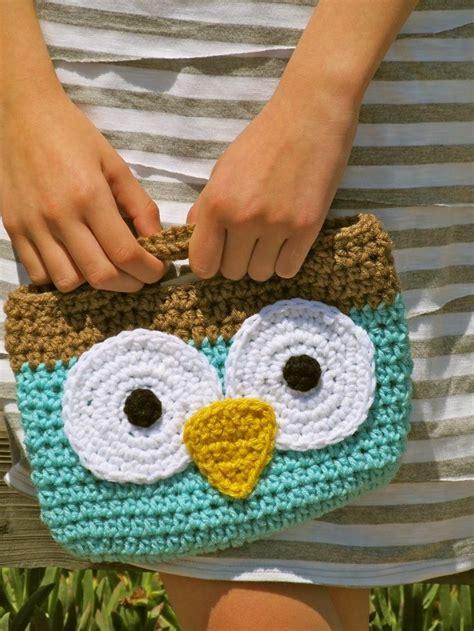owl tote bag pattern free wise owl mini tote free pattern crochet pinterest