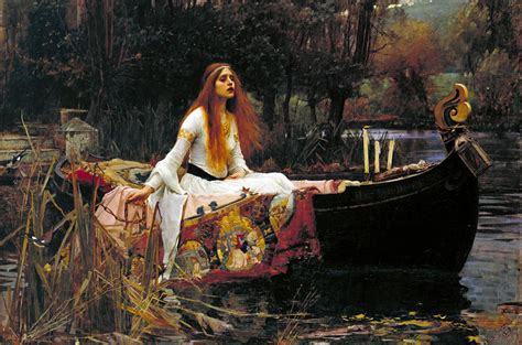 the arthurian tale of elaine of astolat lady of shalott
