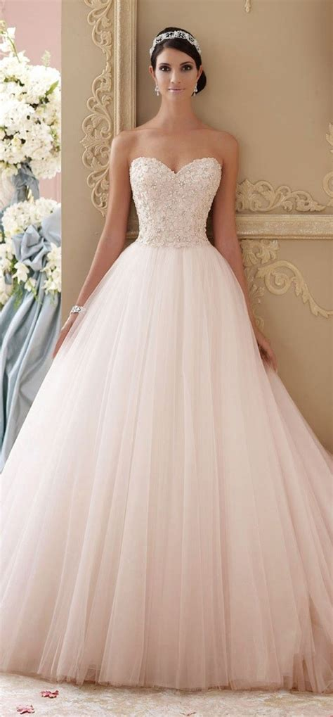 blush colored wedding gowns best 25 pink blush wedding gowns ideas on