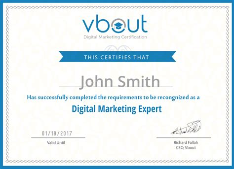 Digital Marketing Certificate Programs free digital marketing course