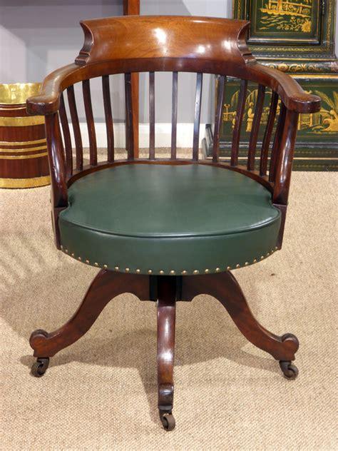vintage swivel chair uk antique captains chair antique office chair antique