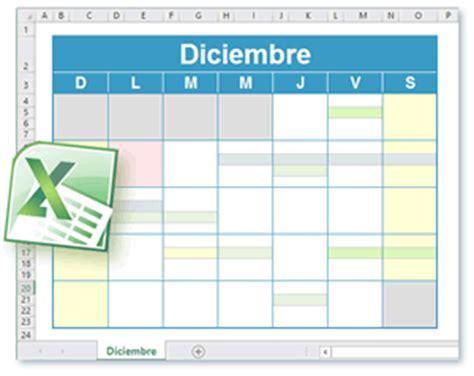 Calendario Octubre 2017 Excel Plantilla Calendario Excel Calendario Para Imprimir