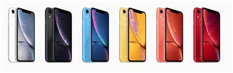 the new iphone xr is available in 6 colours we ranked them from worst to best