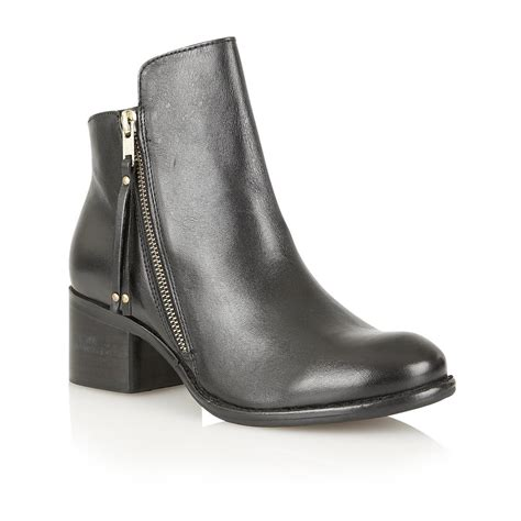 Flatshoes Ankle Ks 80 buy ravel kansas ankle boots in black leather