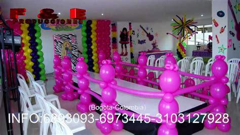 Decoracion Para Fiestas Infantiles Decoraci 243 N De Fiestas Infantiles Tem 225 Ticas En Bogot 225 6893093 6973445