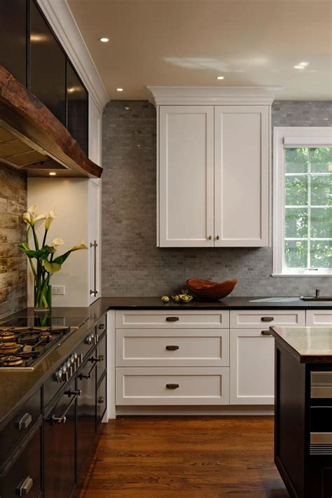 rustic modern kitchen cabinets best 25 transitional kitchen ideas on