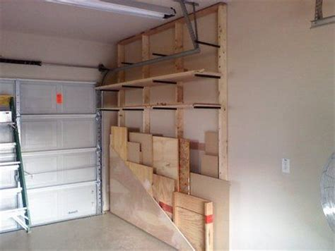 Lumber Storage Garage by Best 25 Lumber Storage Ideas On
