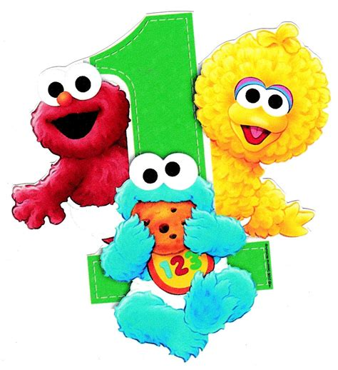 heat l for baby 2 5 quot 5 quot sesame babies 1st birthday heat
