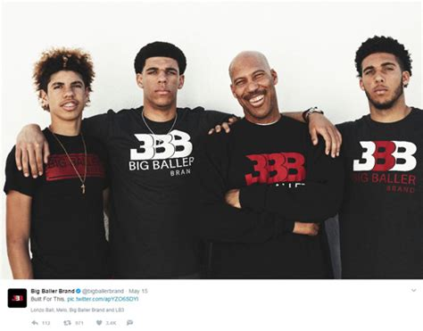 Hoodie Big Baller Brand 2 big ballin big ideas fuel a s big baller brand and