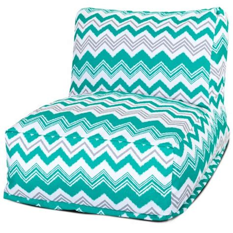 turquoise bean bag chair majestic home goods pacific zazzle bean bag chair lounger