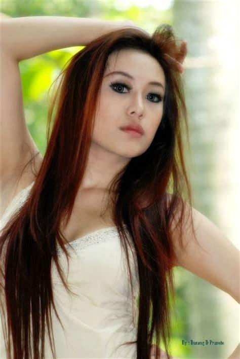 Model Indonesia Panas Igo | imgchili vladmodel hanna set 001 dark brown hairs
