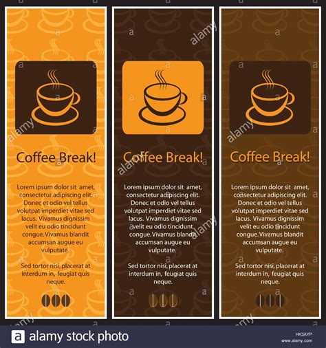 banner design coffee shop restaurant menu stock vector 699560560 set of 3 coffee shop banner or menu template designs stock