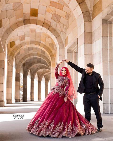 10 traditional islamic wedding dresses demilked